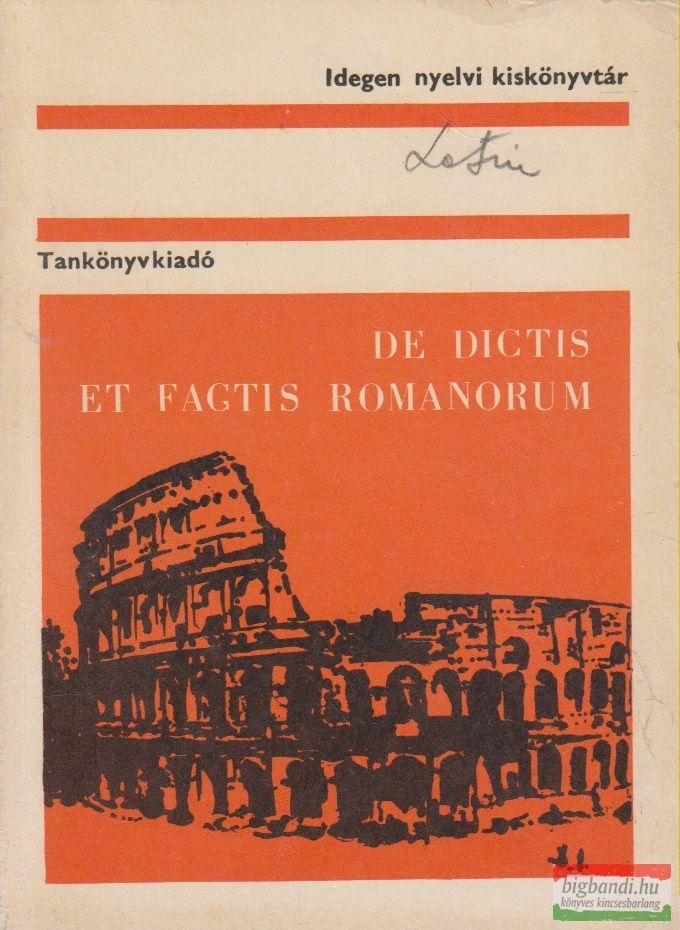 Kapitánffy István szerk. - De dictis et factis Romanorum - Könnyű latin olvasmányok