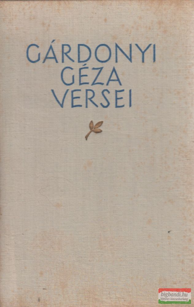 Gárdonyi Géza versei - számozott példány