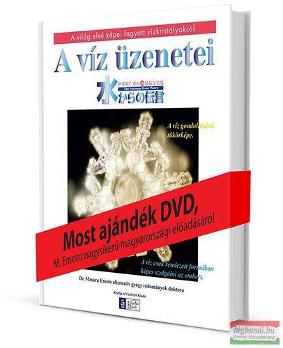Masaru Emoto - A víz üzenetei - DVD melléklettel