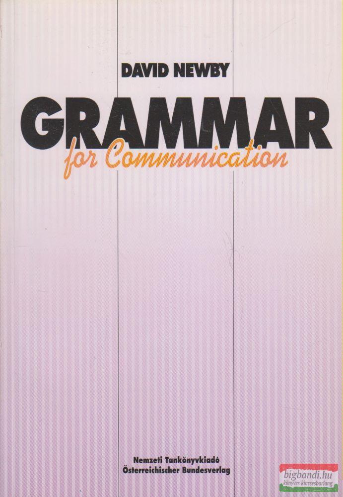 David Newby - Grammar for Communication