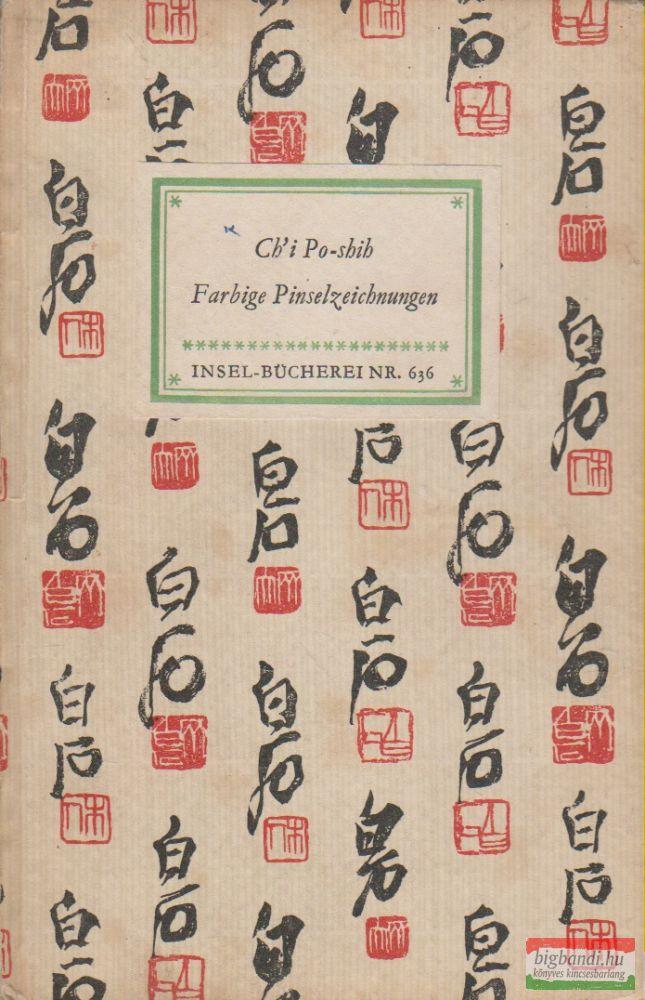 Farbige Pinselzeichnungen Insel-Bücherei 636.