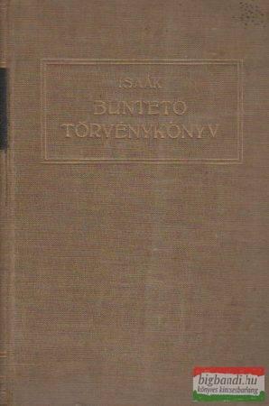 Büntető törvénykönyv - A bűntettekről és vétségekről (D- 1878: V. törvénycikk)