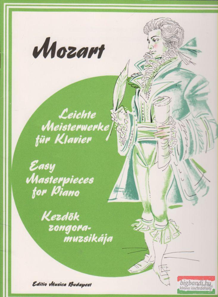 Mozart - Kezdők zongoramuzsikája