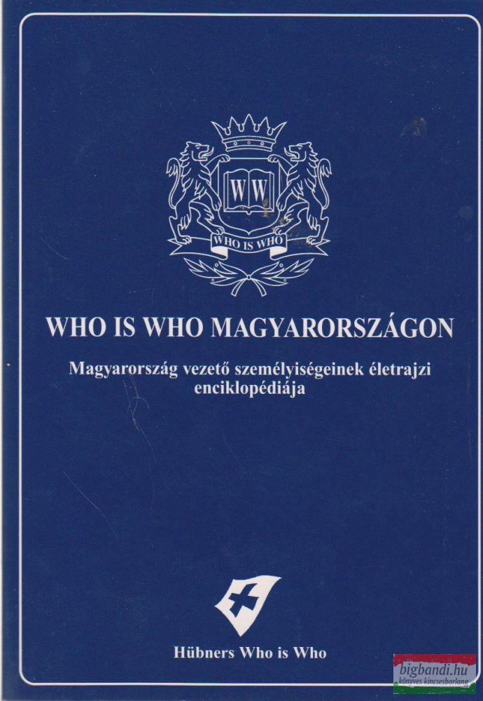 Who is Who Magyarországon - CD-melléklettel
