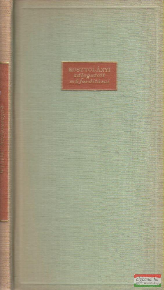 Wilde: Költemények (Kosztolányi válogatott műfordításai)