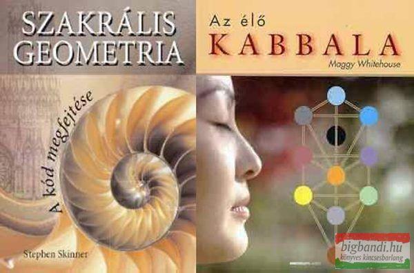 Szakrális geometria - Az élő kabbala - akciós csomag