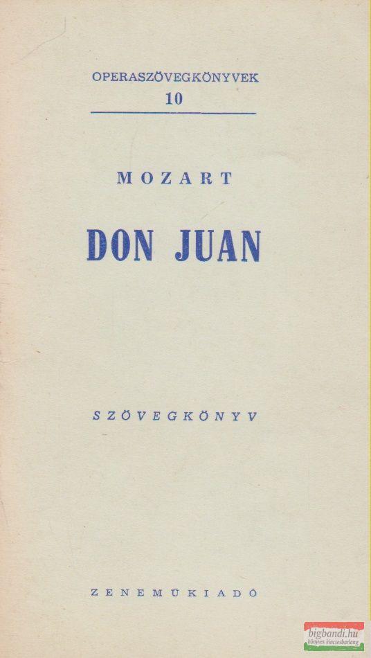 Don Juan - szövegkönyv