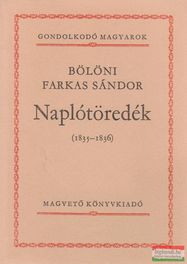 Naplótöredék (1835-1836)