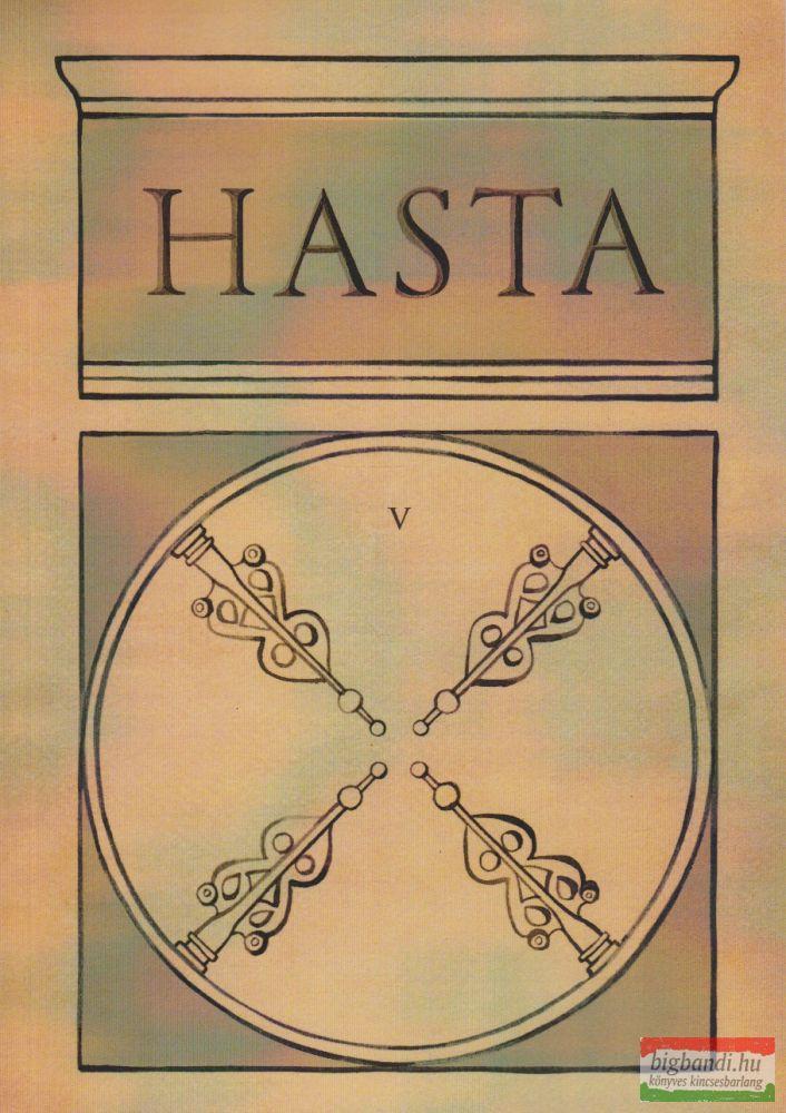 Hasta - folyóirat V. szám
