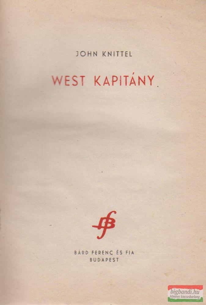 West kapitány