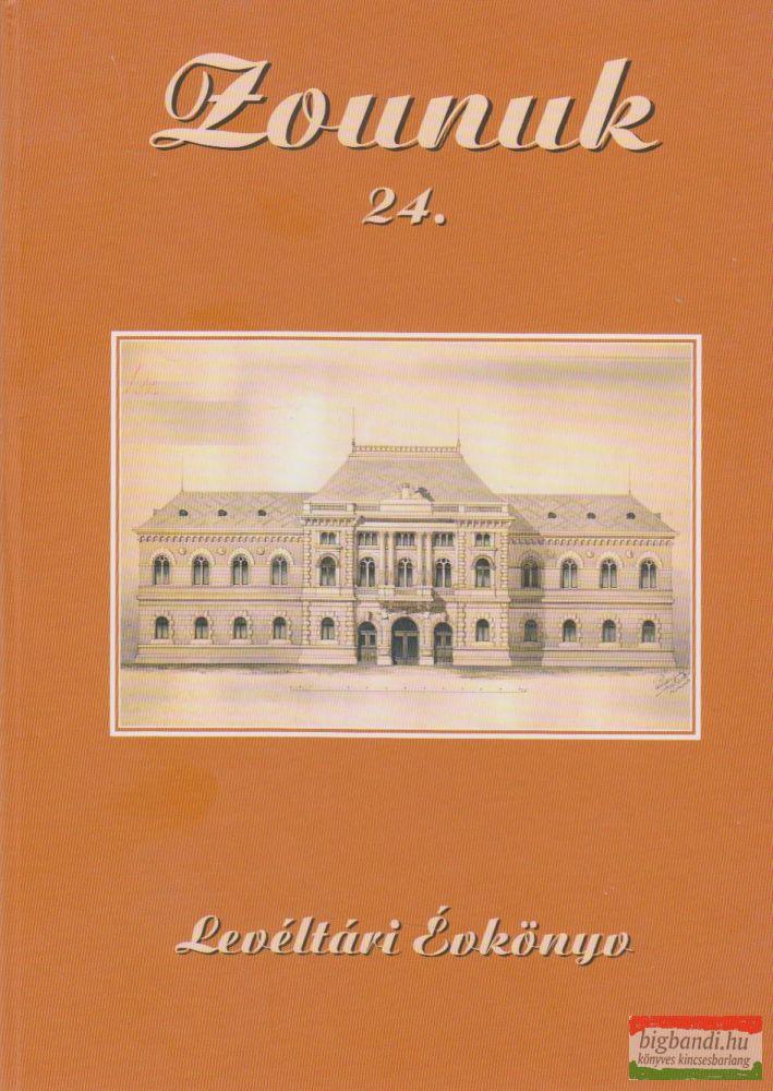Zounuk 24. - Levéltári Évkönyv