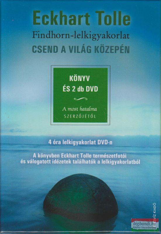Eckhart Tolle - Csend a világ közepén - könyv és 2db DVD