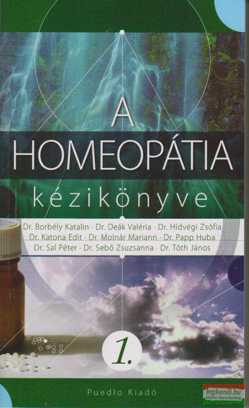 A homeopátia kézikönyve I.