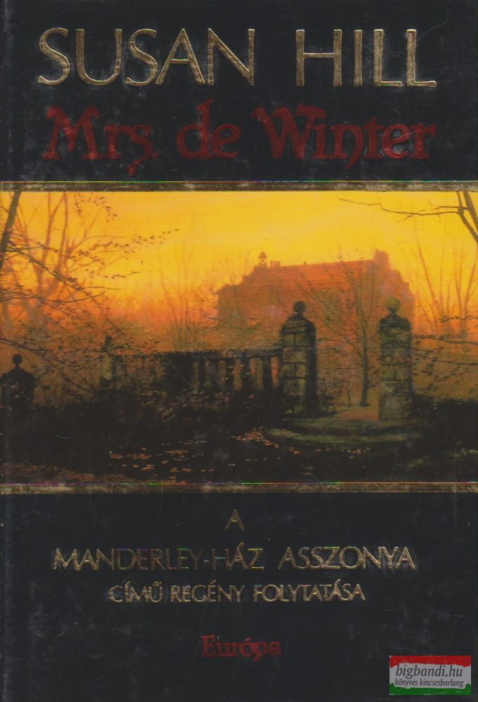 Susan Hill - Mrs. de Winter