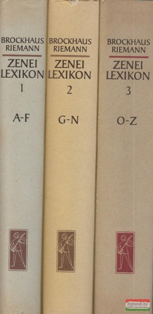 Zenei lexikon 1-3.