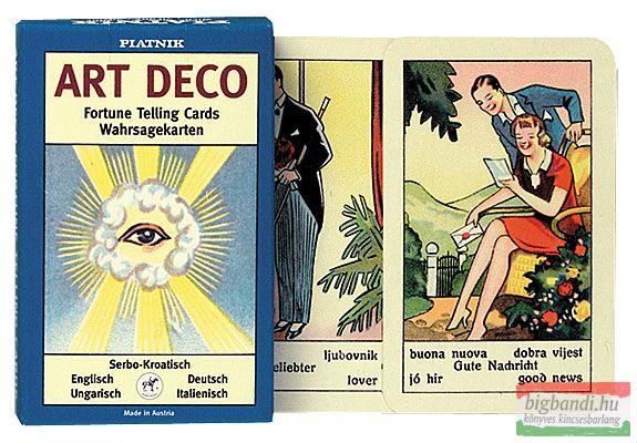 Art Deco jóskártya