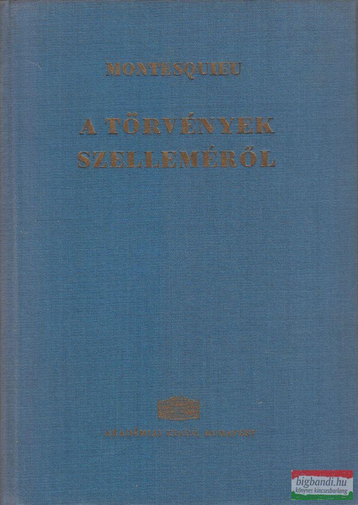 A törvények szelleméről I-II.