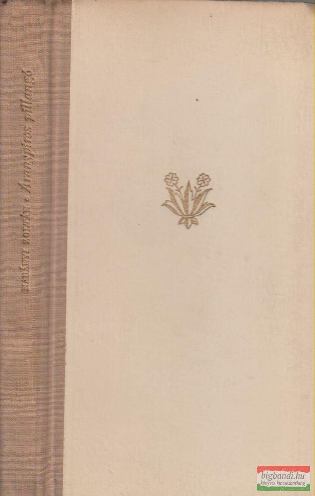 Nadányi Zoltán - Aranypiros pillangó