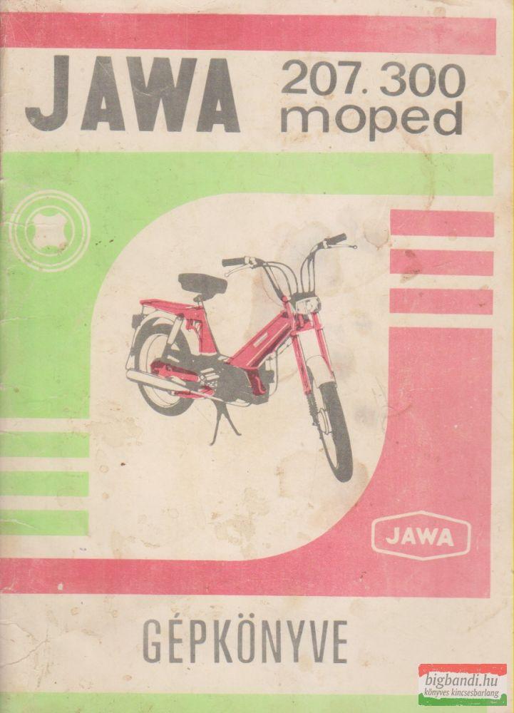 Jawa 207.300 moped gépkönyve