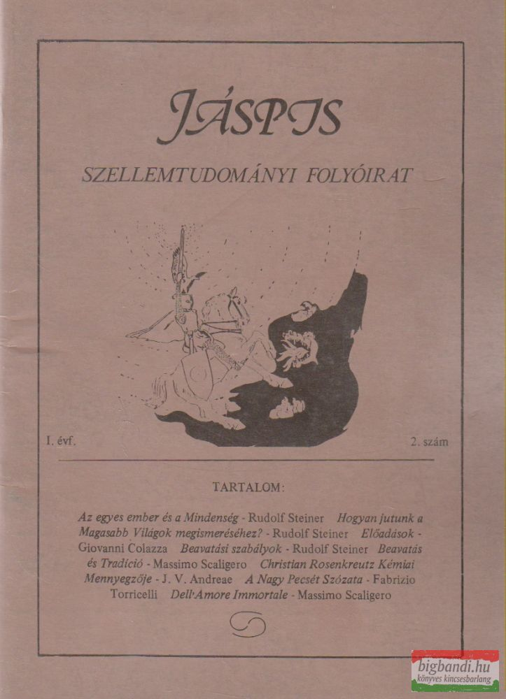 Jáspis - Szellemtudományi folyóirat 2. I. Évf. 1990 december