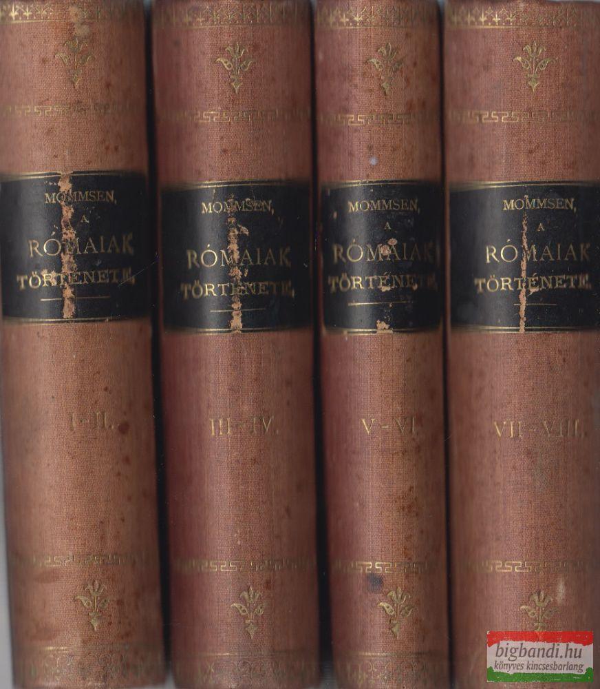 A rómaiak története I-VIII. (4 kötetbe kötve)