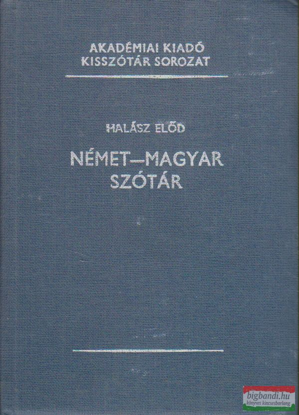Halász Előd - Német-magyar szótár