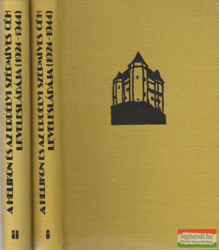 A Helikon és az Erdélyi Szépmíves Céh levelesládája (1924-1944) I-II.
