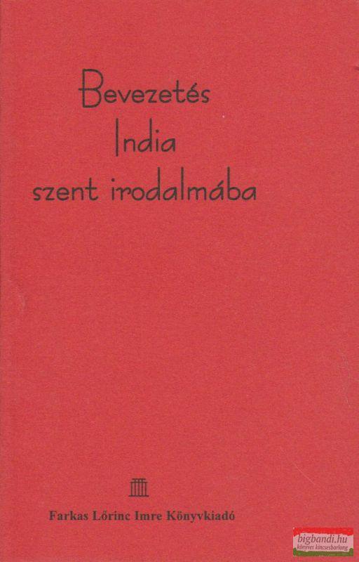 Bevezetés India szent irodalmába