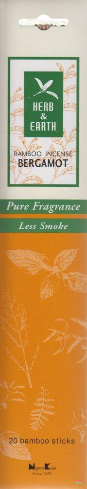 Herb & Earth japán füstölő - Bergamot