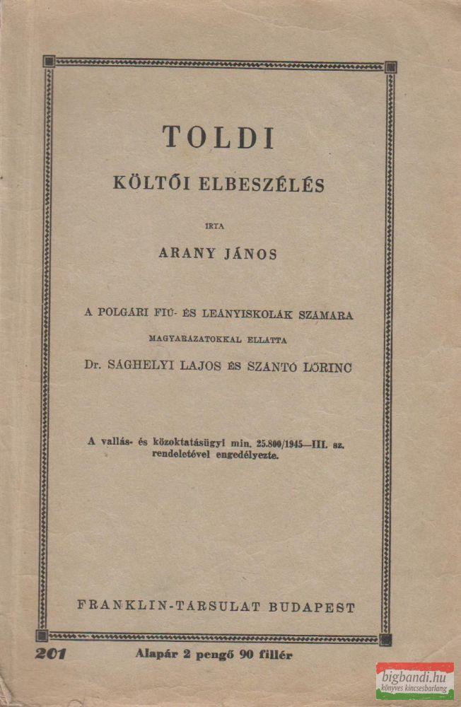Toldi - Költői elbeszélés