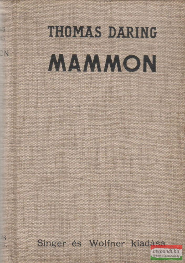 Thomas Daring - Mammon