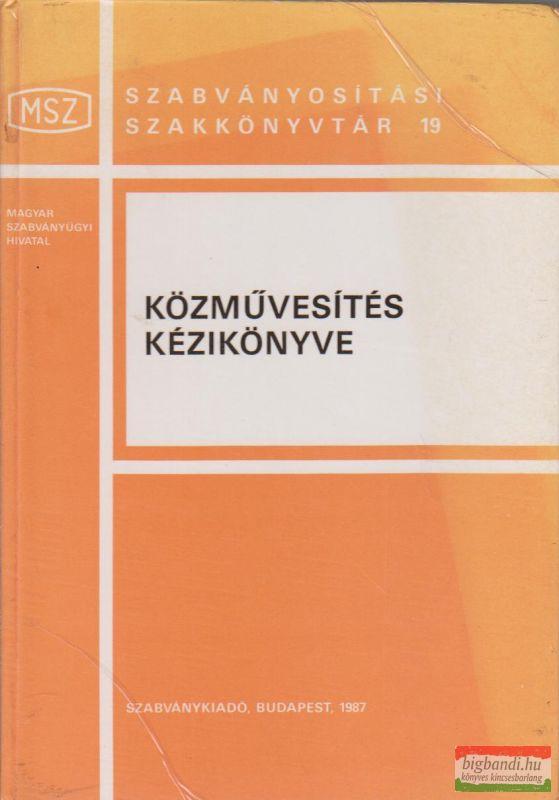 A közművesítés kézikönyve