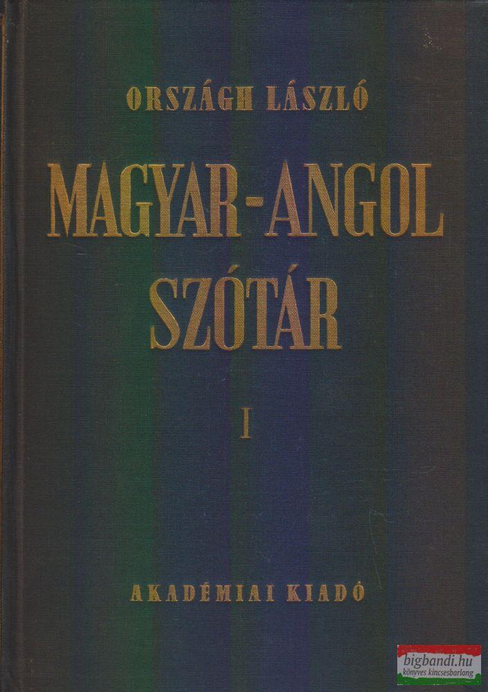 Magyar-Angol szótár I-II.
