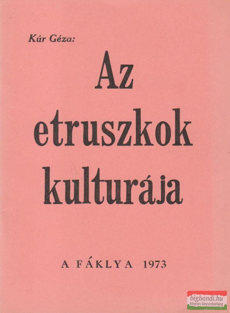 Az etruszkok kulturája