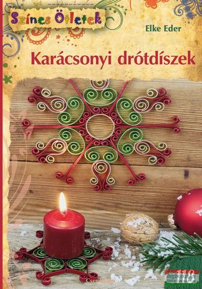 Karácsonyi drótdíszek