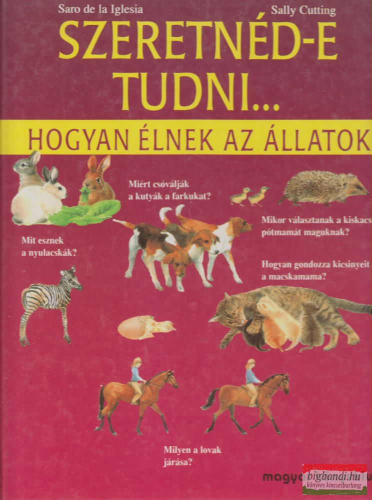 Szeretnéd-e tudni...hogyan élnek az állatok