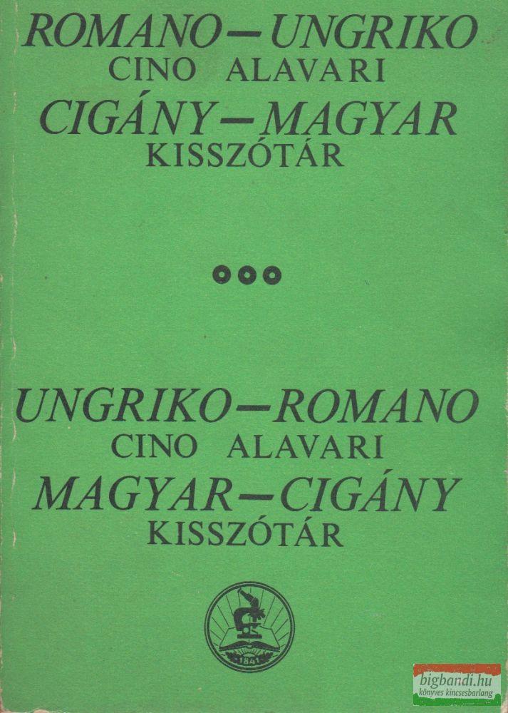 Cigány-magyar/magyar-cigány kisszótár