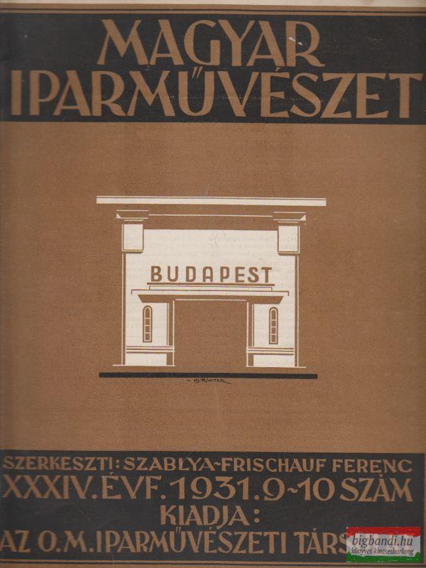 Magyar Iparművészet 1931. 9-10. szám