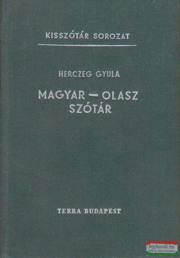 Herczeg Gyula - Magyar-olasz szótár