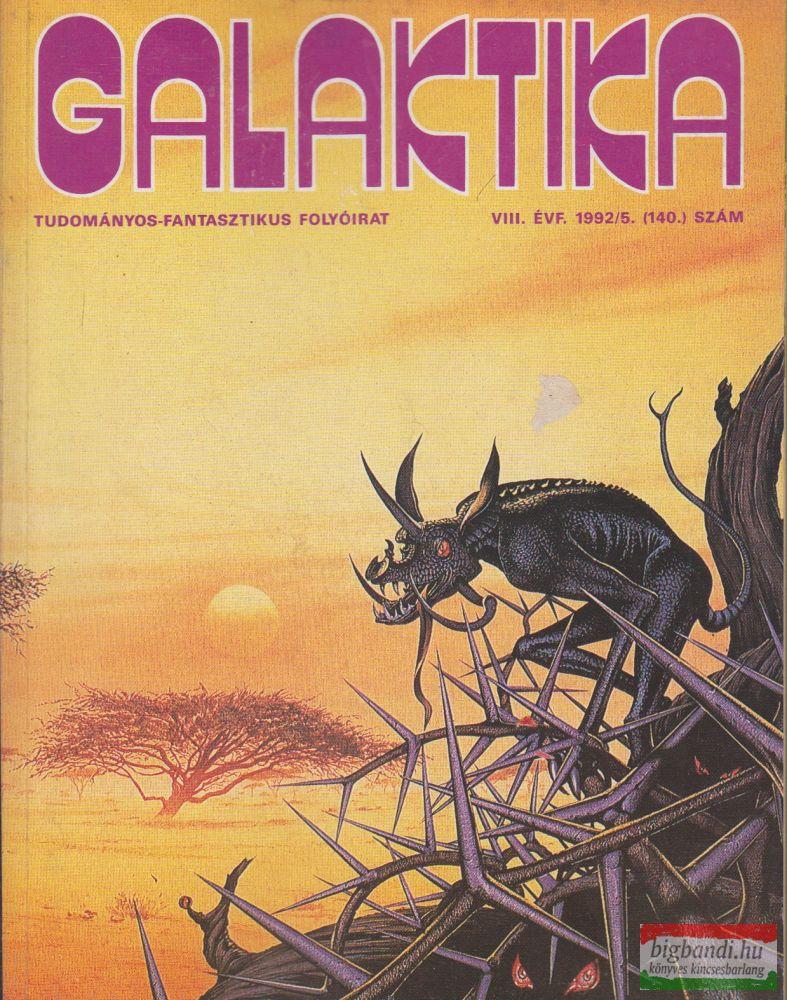Kuczka Péter szerk. - Galaktika Tudományos-fantasztikus folyóirat VIII. évf. 1992/5. 140. szám
