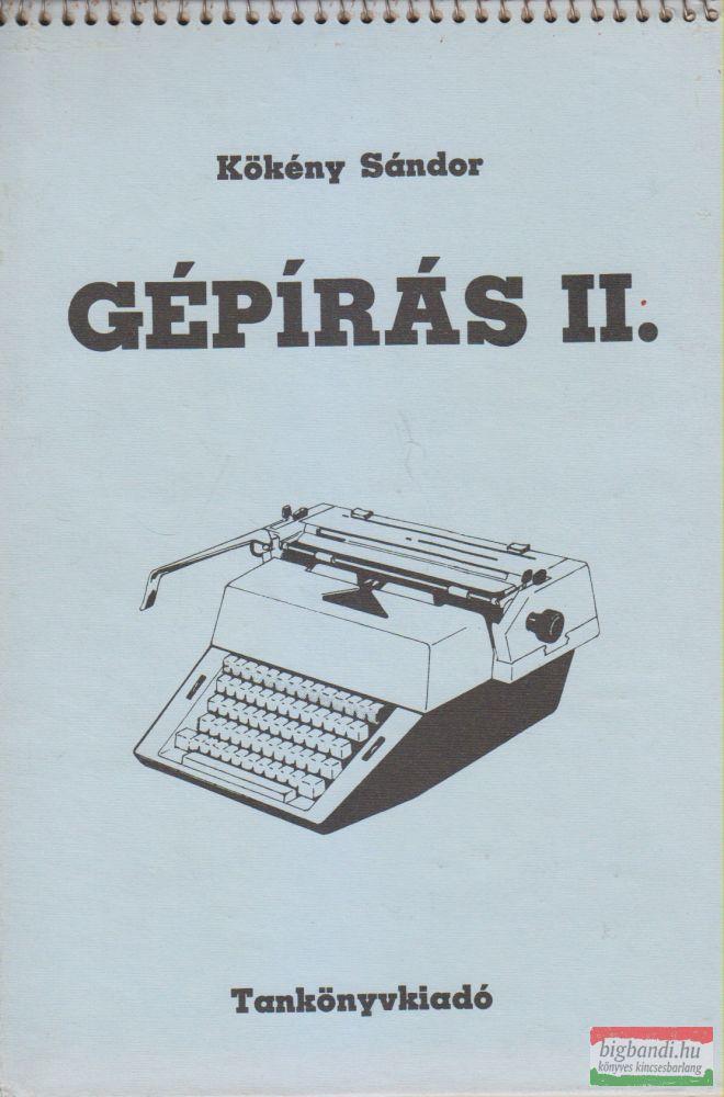 Gépírás II.