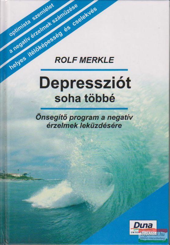 DEPRESSZIÓT SOHA TÖBBÉ
