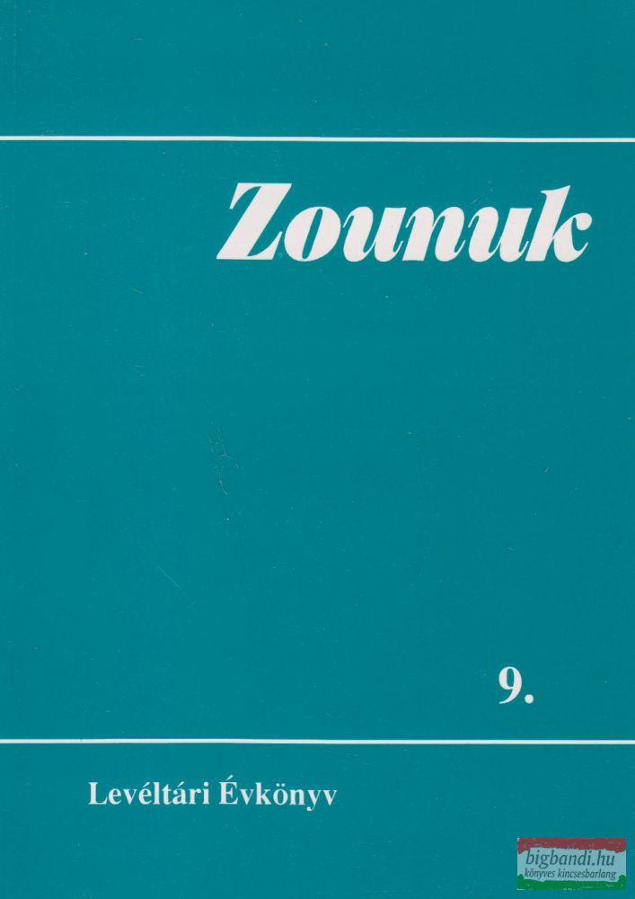 Zounuk 9. - Levéltári Évkönyv