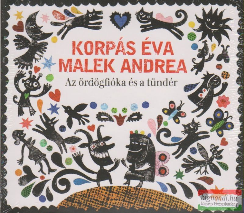 Korpás Éva - Malek Andrea: Az ördögfióka és a tündér CD