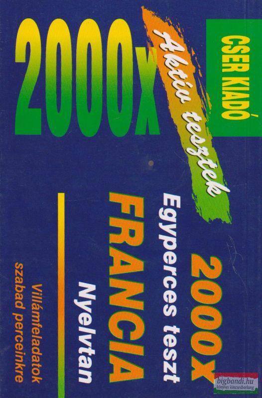 2000 x Egyperces teszt - Francia nyelvtan