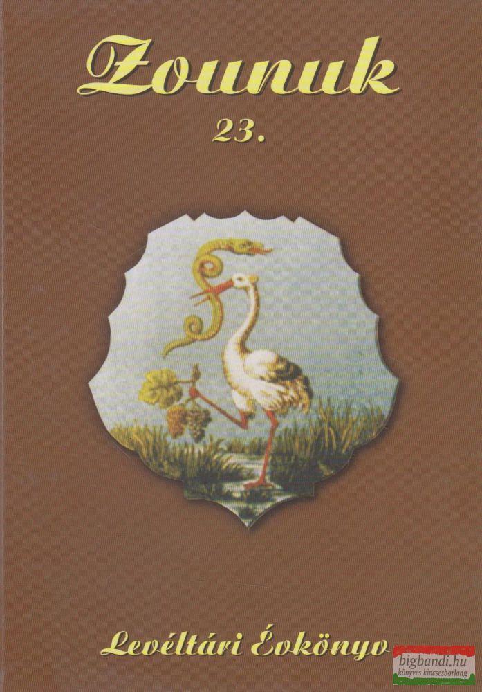 Zounuk 23. - Levéltári Évkönyv