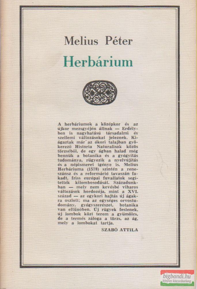 Melius Péter - Herbárium