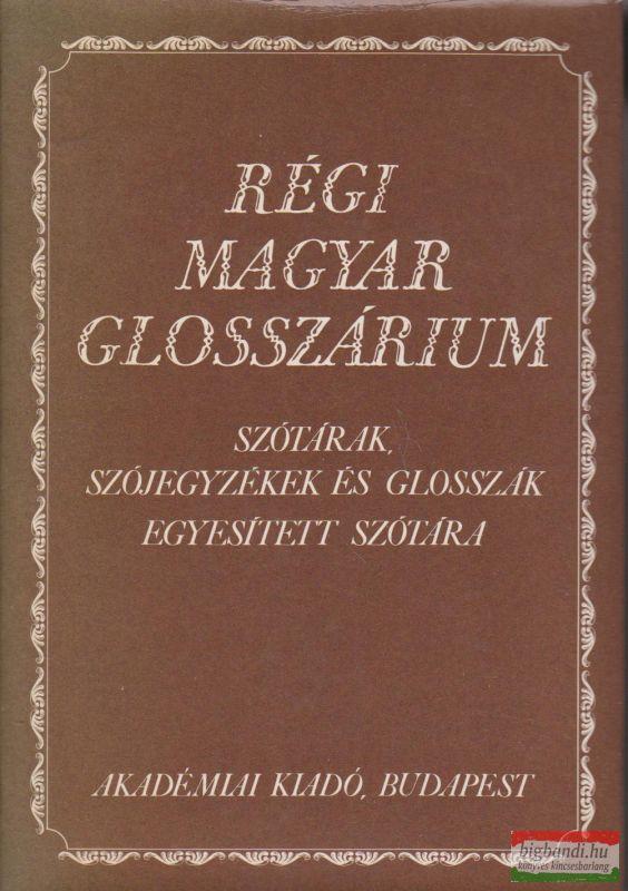 Régi magyar glosszárium