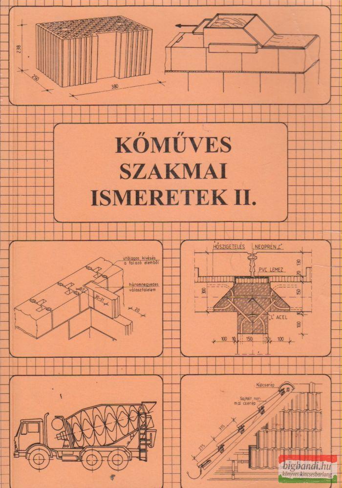 Szerényi István, Gazsó Anikó - Kőműves szakmai ismeretek