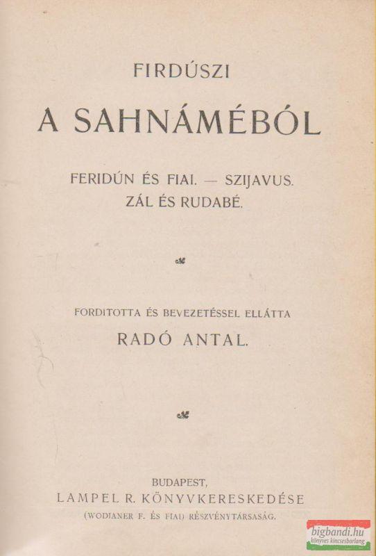 A Sahnáméból
